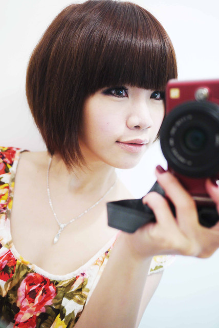髮妝造型-流行短髮參考造型!我的四年 34 種俏麗短髮照片記錄 :)