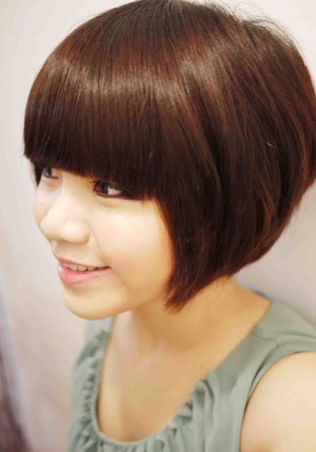 髮妝造型-流行短髮參考造型!我的四年 38 種俏麗短髮照片記錄 進化史 :)