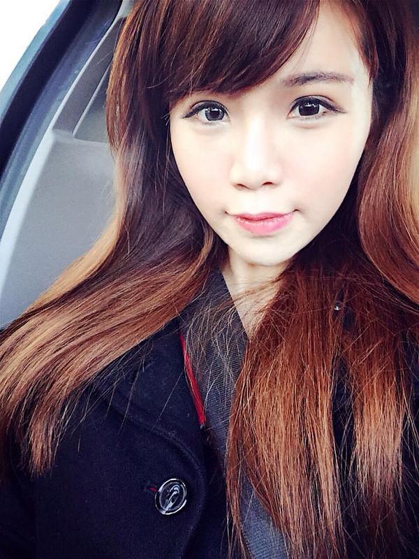 換髮型-終於改變了一成不變的妹妹頭瀏海!新髮色/造型,大喜歡!