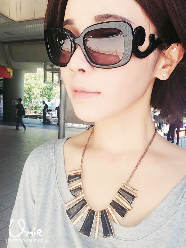 Prada Baroque Rectangular Sunglasses