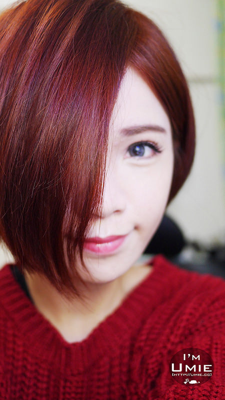 201501 new hairstyle and color :)