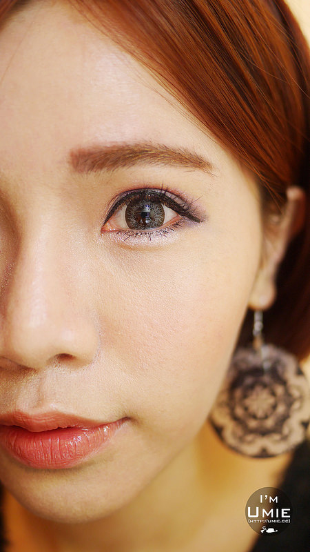 20150303 紫棕色眼妝 眼影教學