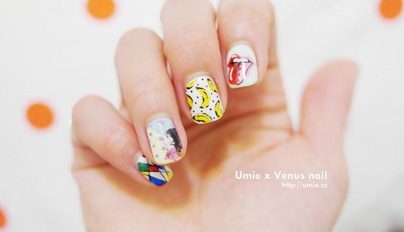201505 venus nail x andy warhol
