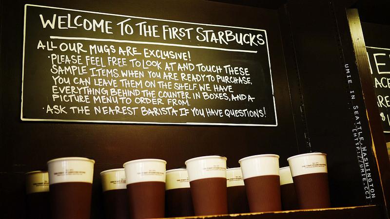 20140316 全世界第一家星巴克 First Starbucks at Seattle,Washington,USA 西雅圖