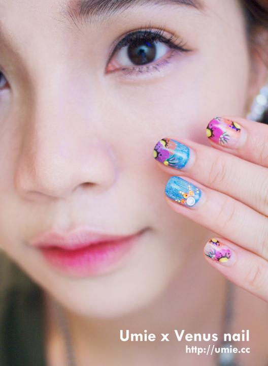 20150725 Venus nail 美甲工坊/Umie/nail care/指甲光療/美甲/手足護理/腳保養