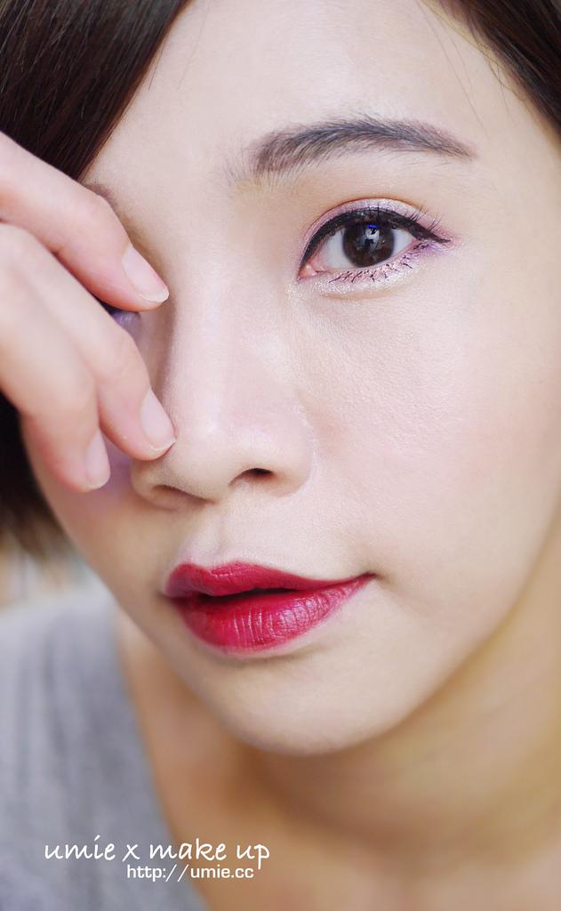 20150916 memebox/pony/umie/make up/彩妝教學/美妝部落客/韓國彩妝/小三美日/韓系妝容/紅唇